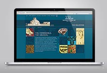 Website für das Museum of Islamic Art, Doha