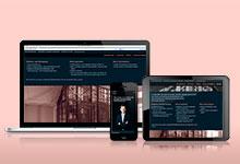 Website für eine Anwaltskanzlei
