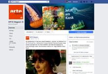 Neuer Facebook-Auftritt für das ARTE-Magazin
